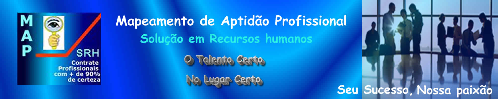 MAPEAMENTO DE APTIDÃO PROFISSIONAL